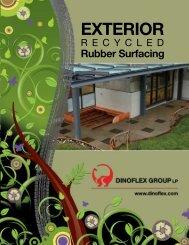 Evolution Rubber Tile Commercial Flooring Brochure (March 2009)