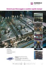 Sistemi per bloccaggio e cambio rapido stampi - ROEMHELD Gruppe