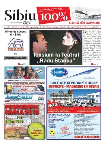 "Tensiuni la Teatrul ,,Radu Stanca"" - Sibiu 100"