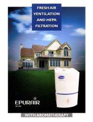 EPURAIR HV500 Brochure - United Energy