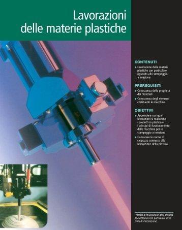 Lavorazioni delle materie plastiche - Sei