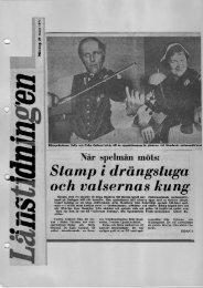Stamp i drängstuga och valsernas kung - Södermanlands ...