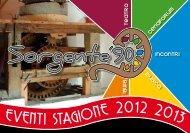 libretto stagione invernale 2012 2013 - Sorgente '90