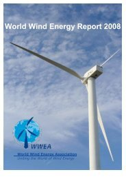 World Wind Energy Report 2008 - World Wind Energy Association