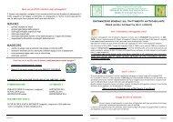 Informazioni per i pazienti in Trattamento Anticoagulante Orale