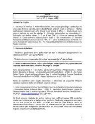 Ano I - nº 007 - 21 de JuLho de 2008 - Secretaria da Agricultura e ...