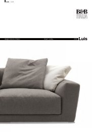 design Antonio Citterio divani / sofas 2009 Luis 03.09 - Dammacco