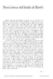 Storia breve del Sedile di andò - culturaservizi.it