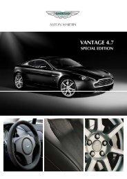 VANTAGE 4.7 - Aston Martin Italia