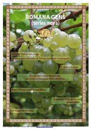 Romana Gens (series nova) - anno 2 numero 1