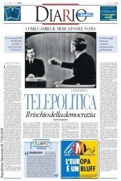 """"""" """" Il rischio della democrazia - La Repubblica"""