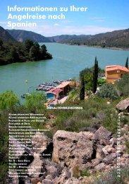 Informationen zu Ihrer Angelreise nach Spanien Ebro und Riba Roja