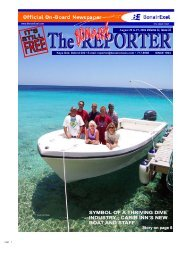 symbol of a thriving dive industry - The Bonaire Reporter