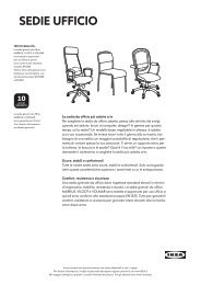 Sedie ufficio - Ikea
