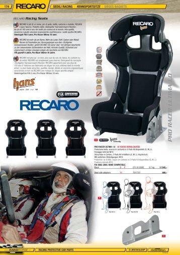 174-176 RAV 13 - Recaro Sitze - Jec Import SA