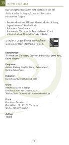 September '11 - Januar '12 - Kunstverein Pforzheim im ... - Page 2