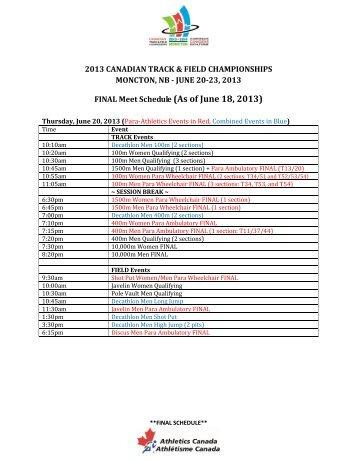 alberta provincial track meet 2013 dodge
