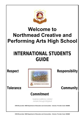 Information Booklet International Students Guide - Northmead ...