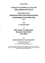 1. Abdul Hamid Yeop Zainuddin - Parlimen Malaysia