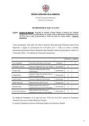 Delibera del Comitato Istituzionale dell'Autorità di Bacino n.8 del ...