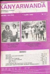 Page 1 lkinyamakuru IILANY MINYAMAKURU CYIGENGÉ' BP 1179 ...