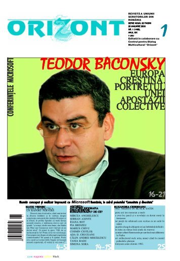 europa cre{tin~. portretul unei apostazii colective - revistaorizont.ro
