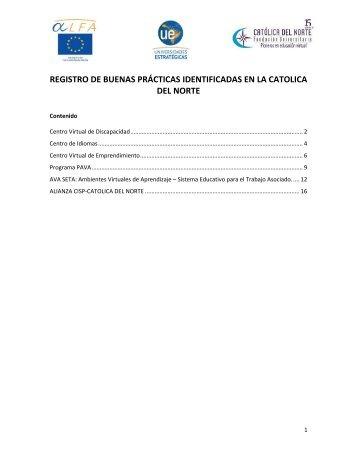 Buenas_practicas UCN - Fundación Universitaria Católica del Norte