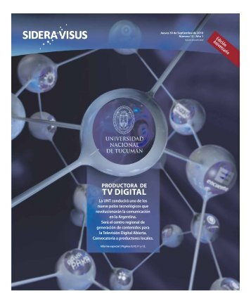 Sidera Visus 12 - Noticias de la UNT - Universidad Nacional de ...