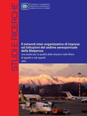 In network inter-organizzativo di imprese e istituzioni del sedime ...