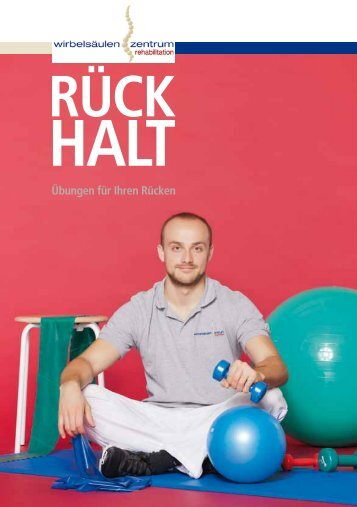 Rücken-Übungen für zuhause - Wirbelsäulenzentrum am ...