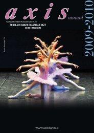 Scuola di danza claSSica e jazz - axis danza