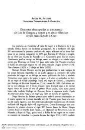 Elementos afronegroides en dos poemas de Luis de Góngora y ...