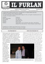 Il Furlan periodico del Fogolar di Melbourne - settembre 2011