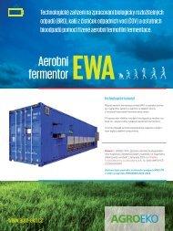 Informační list aerobního fermentoru EWA - AGRO-EKO spol. s ro