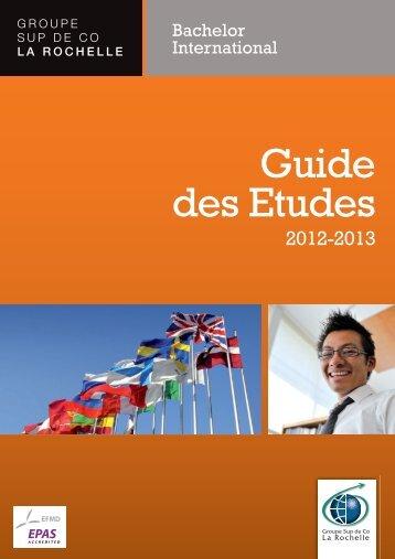 Guide des Etudes - ESC La rochelle