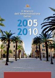 01 bilancio mandato SINDACO.qxp - Comune di Sassari