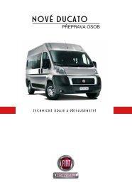 Technické údaje - Fiat Professional