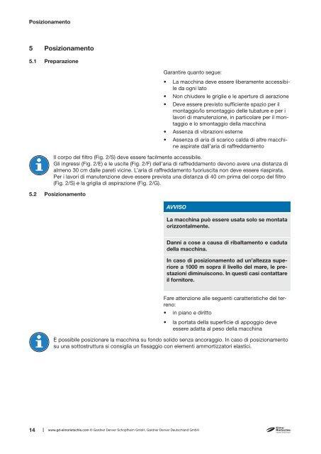 Istruzioni per l'uso Originale V-KTR - Elmo Rietschle