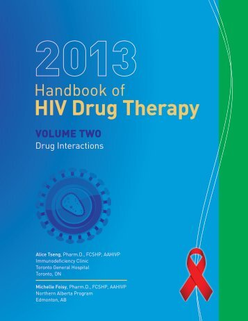 HIV Drug Therapy - Immunodeficiency Clinic