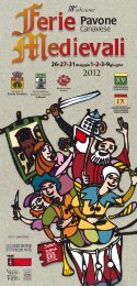 Scarica il programma in PDF - Ferie Medievali