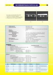 SICHERHEITSLEUCHTE K1-K2