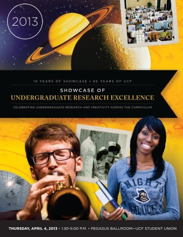UNDERGRADUATE RESEARCH EXCELLENCE - Office of ...