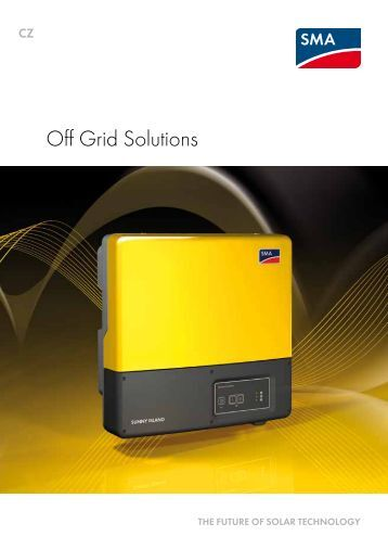 SMA - Off Grid Solutions - Sunny Familly 2011/2012 - katalog (pdf)