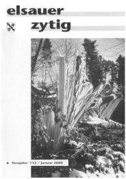 leserforum - Elsauer Zytig