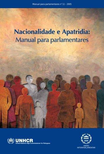 Nacionalidade e Apatridia - Inter-Parliamentary Union
