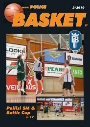 lehti kesä 2010 - Police Basket, Helsinki