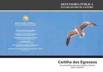 Cartilha dos Egressos - Defensoria Pública Geral do Estado do Rio ...