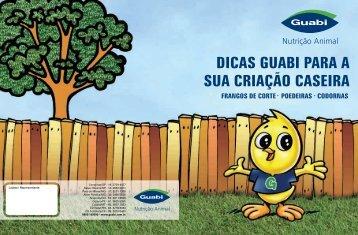PE Manual Criação Caseira.cdr - Guabi