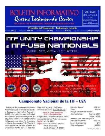 BOLETIN INFORMATIVO Vol. 11 No.1 - QTC-ITF.com