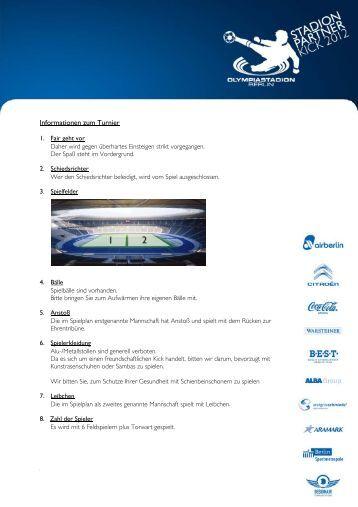 Informationen zum Turnier - Olympiastadion Berlin